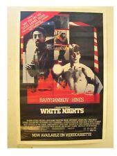 White Nights Poster Gregory Hines Mikhail Baryshnikov