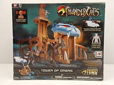 2011 BAN DAI THUNDERCATS TOWER OF OMENS PLAYSET WITH EXCLUSIVE TYGRA FIGURE