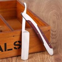 Knife falten Rasiermesser gerade Rostfreier Stahl Rasiermesser für Barber