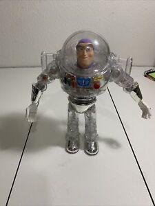 "Disney Pixar Toy Story Interstellar Thinkway Clear Buzz Lightyear 12"" Figure"