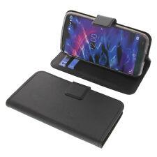 Tasche für MEDION Life E5004 Smartphone BookStyle Schutzhülle Buch Schwarz