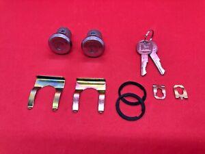 1967-1987 CHEVROLET C/K PICKUP DOOR LOCK CYLINDER SET 2 KEYS NEW DLS184