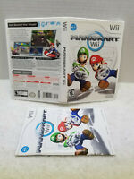 MARIO KART WII CASE AND MANUAL ONLY, NO GAME