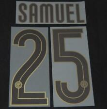 INTER SAMUEL 25 CENTENARIO 2008/09 football shirt nome impostato via