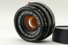 【B V.Good】 Leica SUMMICRON-C 40mm f/2 Lens for M Mount CL CLE From JAPAN #2785