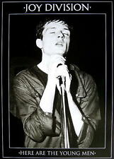 """JOY DIVISION POSTER """"HERE ARE THE YOUNG MEN"""""""