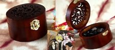 Circle Wood Wind Up Music Box : Pandora Heart - Everytime You Kissed Me