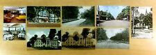 8 Antique & Vintage Postcards ALL MONTICELLO, NY 1907-1961 New York