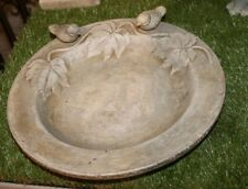 formano Vogeltränke in steinfarben antik 29 cm