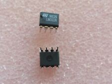 20x ST MICRO LM311N VOLTAGE COMPARATOR WITH STROBE IC 8 PIN DIP