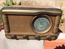 RADIO ANTIGUA A VALVULAS DE MADERA