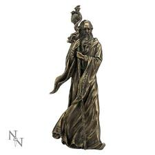 Nemesis Now - MERLIN Bronze Figurine 28 cm . Fantasy /  Witchcraft