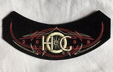 """HOG 2009 HARLEY DAVIDSON OWNERS GROUP PATCH BADGE BLACK RED SILVER 6""""x 2"""""""