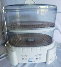 Oster Food Steamer Rice Cooker Model 4711 6Qt Capacity  - White