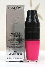 Lancome Matte Shaker Liquid Lipstick Matte Finish - Yummy Pink  - 379 - BNIB