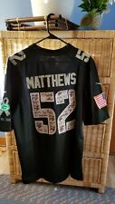 Packers Stitched Salute to Service Clay Matthews Jersey Size 48 XL