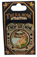 Disney DLR Then and Now Swiss Family Treehouse to Tarzan's Treehouse Pin