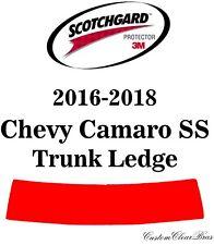 3M Scotchgard Paint Protection Film Clear Pre-Cut 2016 2017 2018 Chevy Camaro SS