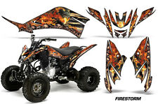 Yamaha Raptor125 AMR Racing Graphic Kit Wrap Quad Decals ATV All Years FIRESTORM