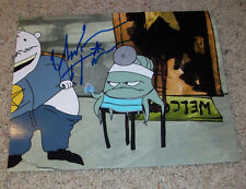 UNKNOWN HINSON SIGNED AUTOGRAPH SQUIDBILLIES 8x10 PHOTO D w/PROOF EARLY CUYLER