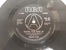 "Bucks Fizz – Making Your Mind Up (RCA 56) 7"" Vinyl Single RCA 1981"