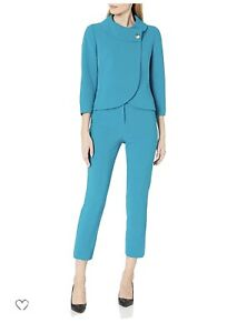 TAHARI BY ARTHUR LEVINE PANT  SUIT/SIZE 4P/PETITE/RETAIL$280/NEW WITH TAG
