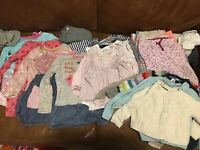 Baby Girls Clothes Bundle 12-18 Months dress John Lewis top trousers Next Gap