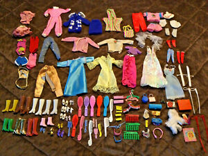 Barbie Clothes, Accessories, Shoes, Combs, Brushes, Purses, etc.