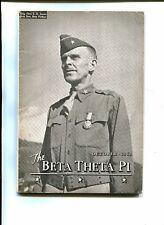 The BETA THETA PI Magazine October 1943 Brig Gen LE Jones WW2 Military List