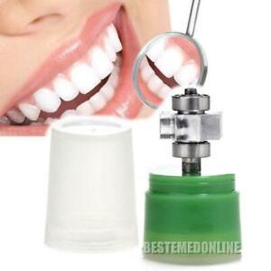 4holes Dental High Fast Speed E-generator Fiber Optic LED Handpiece Push Dentist