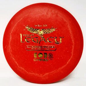 Legacy Power Ching First Run OG St/amp 174g Red Ching Disc Golf NEW *PRIME* Rare