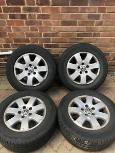 VW Transporter T5 T6 16 inch Alloy Wheels and tyres