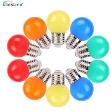 10er 1W E27 LED farbige Glühbirne,ersetzt 10W farbige leuchtmittel Glühlampe