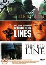 Tigerland | Behind Enemy Lines | The Thin Red Line (DVD, 2005 Relea, 3-Disc Set)