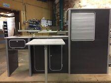 Vw T5/T6 light weight plyfurniture units Vivaro Transit  Metallic Gloss Grey
