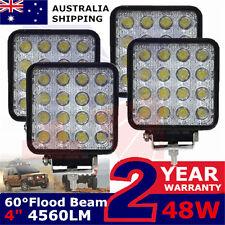 4x48W 12V LED Work Light Flood Lamp john deere valtra fendt Tractor ATV Ford Ram