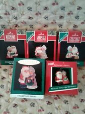 Hallmark Miniature Ornaments The Kringles Complete Collectible Series( 5 ) New