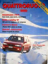 Quattroruote 495 1997 Come vanno le Opel Vectra benzina e diesel.Giulietta [Q90]