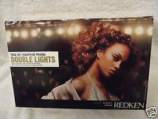 REDKEN Double Fusion DOUBLE LIGHTS Hair Color for Dark Natural Bases ~ TRIAL KIT