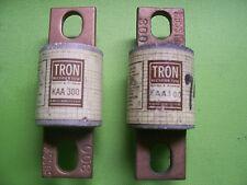 Lot of 2 Tron KAA300 Fuses ~ NEW   130v