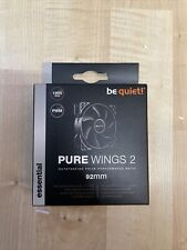 be quiet! Gehäuse Lüfter Pure Wings 2 PWM 92mm