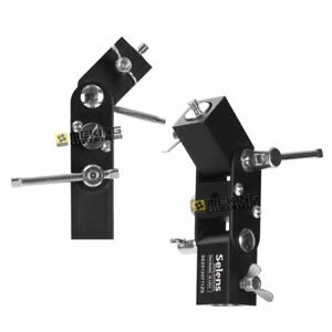 2 x Selens Adjustable Flash Shoe Umbrella Light Stand L-shape Bracket