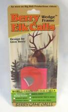 Glen Berry Elk Game Call Reed Carrying Case Holder Coin Purse Style Brown