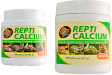 Zoo Med Pet Reptile Calcium With D3 - Lizard, Turtle, Dragon Vitamin Supplement