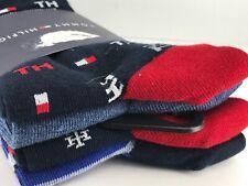 Tommy Hilfiger Men's Socks - Multicolor Cotton Dress Socks - 4 Pack $36 MSRP 🎈