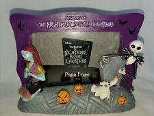 "Disney The Nightmare Before Christmas HALLOWEEN PHOTO FRAME 4"" X 5""  HTF"