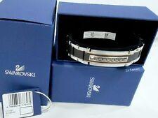 Swarovski Atmosphere Bracelet, Men's Unisex Black/Jet crystal Authentic 5037647