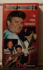 Johnny Counterfit Rare & OOP Music Impersonation Movie Shiloh Records Video VHS