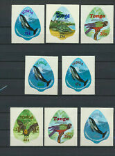 Tonga Wildlife Conservation LOT of 8 Different Mint NH 1978