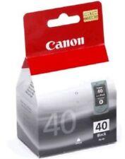 Genuine Original Canon PG 40 PG-40 Black Printer Ink Inkjet Cartridge Inkjet
